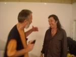 С Хорхе в гримьорната му 2012 (личен архив)
